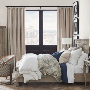 COPY - Pottery Barn Oatmeal/Flax Lined Cotton Wea…